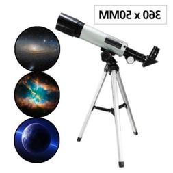 F360x50mm Professional Refractor Telescope Monocular Space A