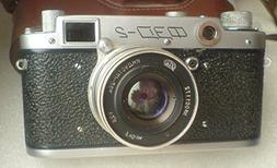 FED-2 Type B USSR Soviet Union Russian 35 mm Leica copy Rang