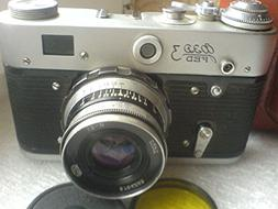 FED-3 USSR Soviet Union Russian RF 35mm Leica Copy Film Came