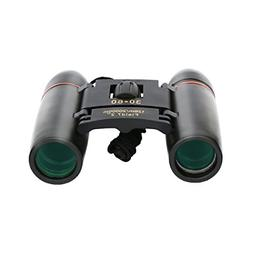 Beantlee 30x60 Folding Binoculars Telescope with Low Light N