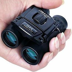 USCAMEL Folding Pocket Binoculars Compact Travel Mini Telesc