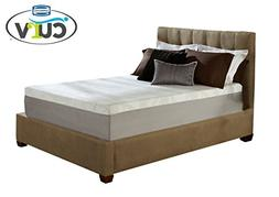 Simmons Curv 12 Inch Gel Memory Foam Mattress, King