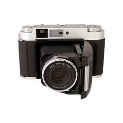 Fujifilm GF670 Rangefinder Folding Camera - Silver - New in