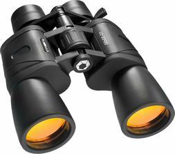 BARSKA Gladiator Binocular with Ruby Lens 10-30x50