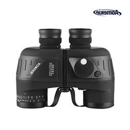 Aomekie 10x50 Binoculars for Adults Marine Military Binocu