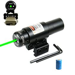 Lanboo Green Laser Sight with 11/20mm Picatinny Rail Mount a