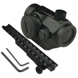 GRG Tactical Micro Red/Green Dot and Mauser K98 Scope Mount