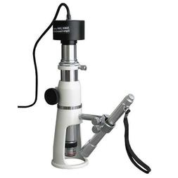 AmScope H2510-5M 20 x 50 x 100 x Measuring Shop Microscope P