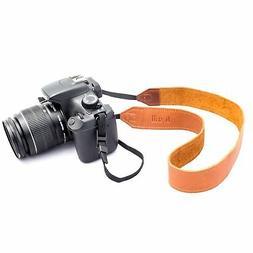 b.still Handmade Soft Genuine Italian Leather Camera Strap +