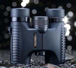 HD 10x26 Binoculars Waterproof Folding Telescope Wide Angle