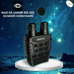 HD Digital Night Vision Infrared Hunting Binocular Scope IR