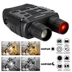 HD Video Digital Zoom IR Night Vision Infrared Hunting Binoc