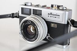 MINOLTA Hi-Matic E 35mm RANGEFINDER Camera