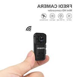 Hidden Camera, FREDI 1080P HD Wifi Spy Mini Portable Ip Indo