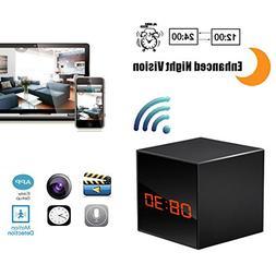 Hidden Camera HD Wireless Spy Network Camera Smart Alarm Clo