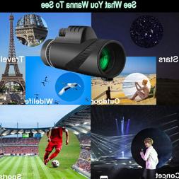 High-power BAK4 Monocular Telescope Night Vision With Fast S