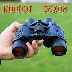 High Power Binoculars Clear 60x60 Night Performance Fixed Zo