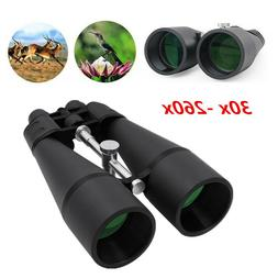 HIGH POWER Coated ZOOM 30-260X Zoomable Binoculars Night Vis