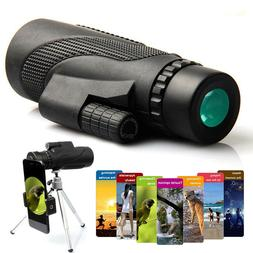 High Power Monocular Telescope For Phone Waterproof 40x60 HD