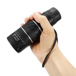 High Power Zoom Monocular Telescope Scope Prism 16x52 For Ad