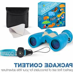 High Resolution Binocular Shockproof toy with real Optics fo