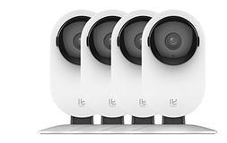 YI 4pc Home Camera, 1080p Wireless IP Security Surveillance