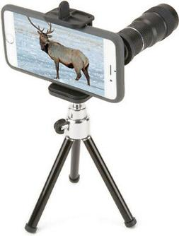 Carson HookUpz 6x18mm Monocular with Universal Smart Phone A