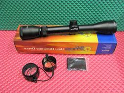 Sun Optics USA Hunter Plus 3-9X40 Rifle Scope/Duplex/Black C