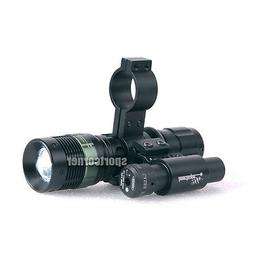 Hunting Adjustable Zoom Powerful CREE Torch & Tactical Red R