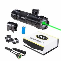 Pinty Hunting Rifle Green Laser Sight Dot Scope < 5mw Adjust