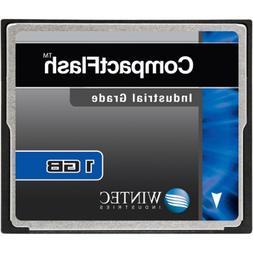 Wintec Industrial Grade SLC NAND 1GB CompactFlash Card, Blac