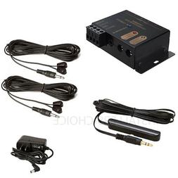 Hidden IR Infrared Remote Control Repeater Extender 2 Emitte
