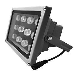 JC Infrared Illuminator 12-Led 90°Wide Angle High-Power IR