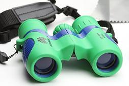 Mabetos Kid's Binoculars High Resolution 8X21 Shock Proof Th