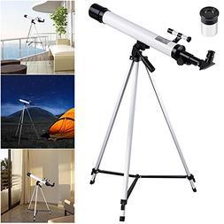AW 50mm Kids Beginners Astronomical Refractor Telescope Spot
