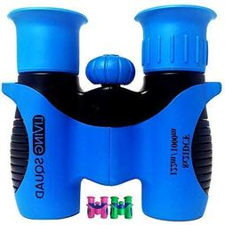 Living Squad Kids Binoculars 8x21 - Shock Proof Toy Binocula