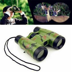 Kids Camouflage Binoculars Telescopes Toys Children Educatio