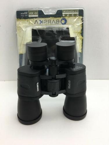 10 30x50 zoom gladiator binocular