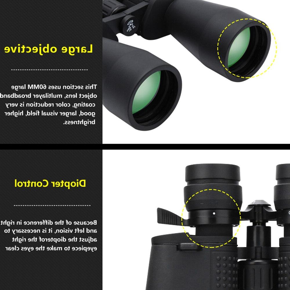 Borwolf 10-380X100 long range times <font><b>Binoculars</b></font> HD Professiona