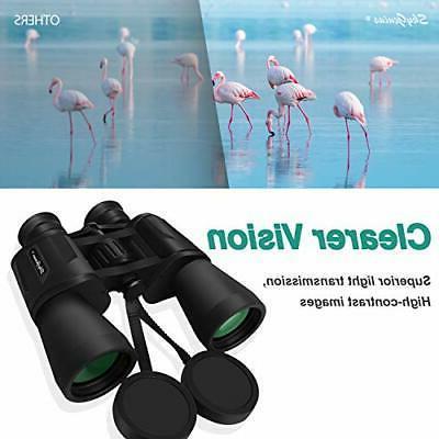 SkyGenius 10 Powerful Binoculars Durable Clear