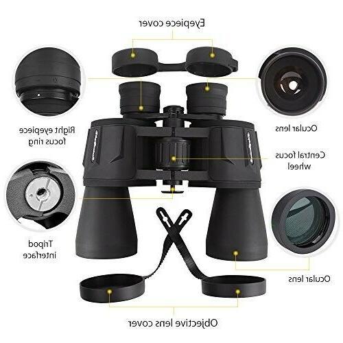 SkyGenius x Powerful Binoculars For Adults,