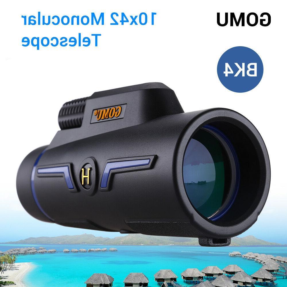 GOMU 10X Binocular Watching Watch Ball Hiking