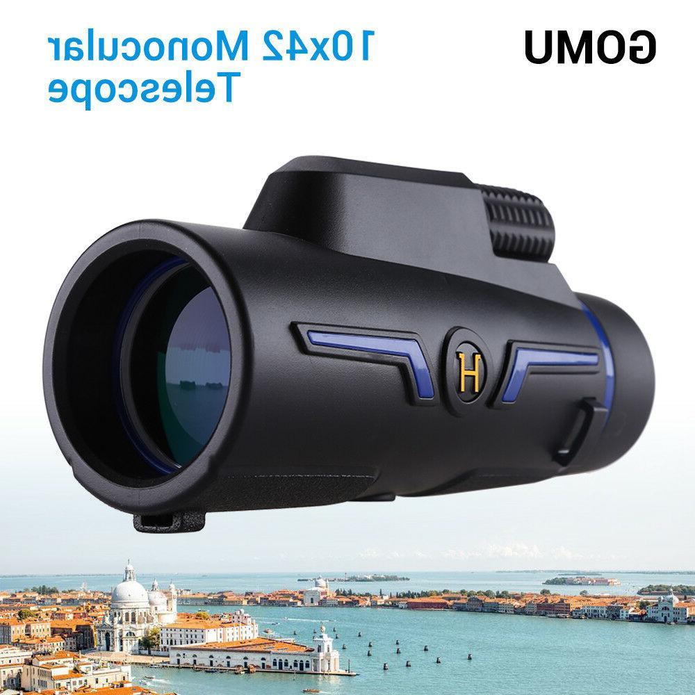 GOMU 10X Binocular for Watching Watch Game Hiking