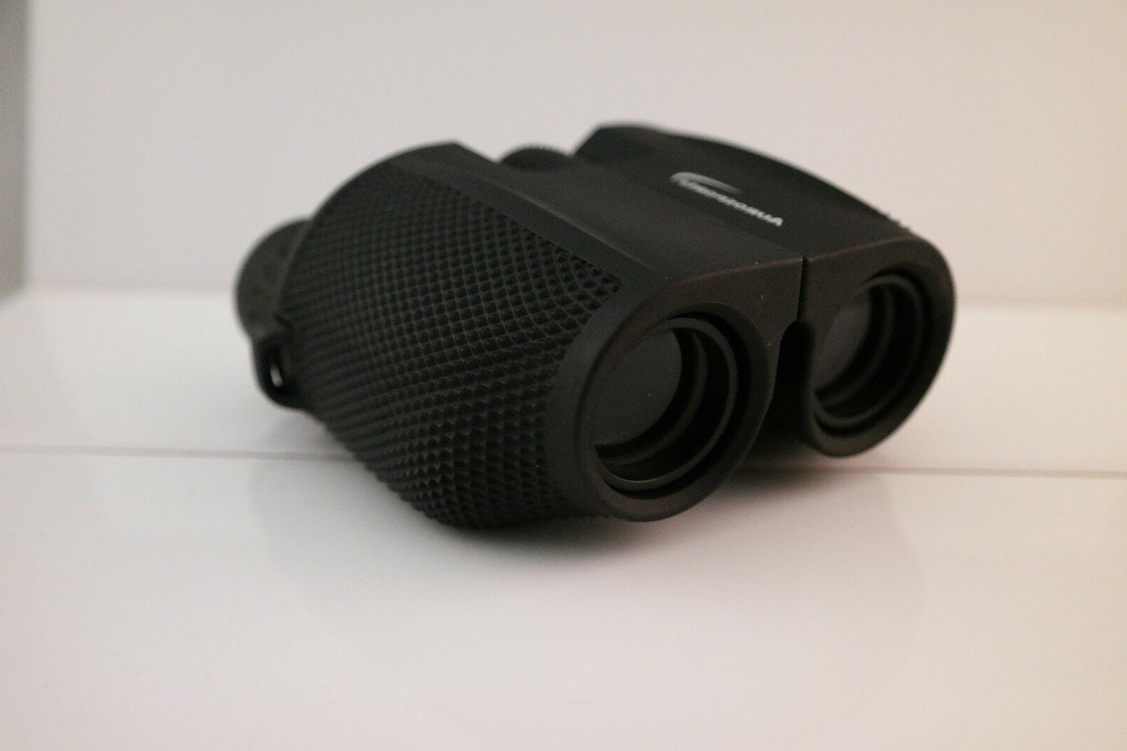 10x25 binoculars low light level vision compact