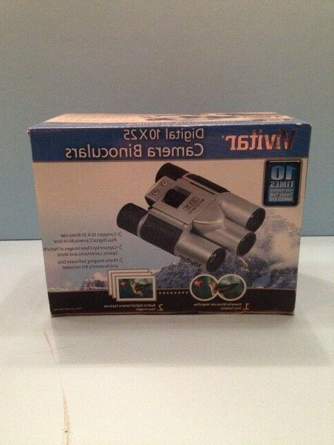 10x25 binoculars with built in digital camera