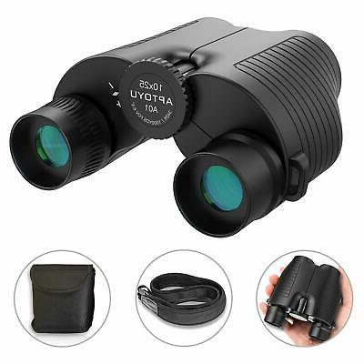 10x25 Compact Binoculars, Eyepiece High Binocular