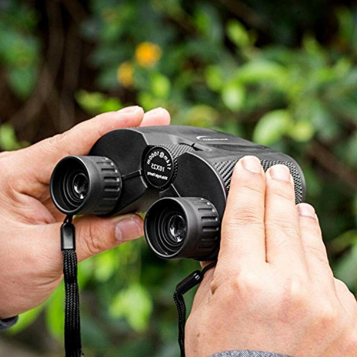 Aurosports 10x25 Binoculars Weak Light Night Vision Clear