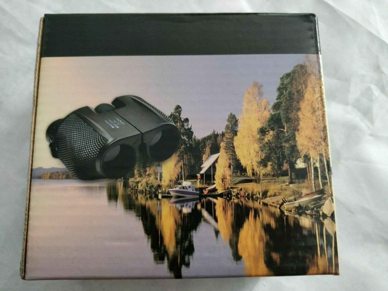 10x25 folding high powered binoculars perfect