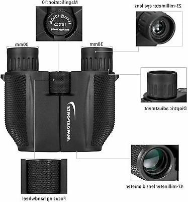 Aurosports Powered Compact Binoculars Adults