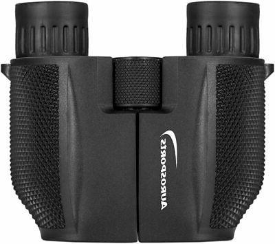 Aurosports Folding Powered Binoculars Adults Kids With We